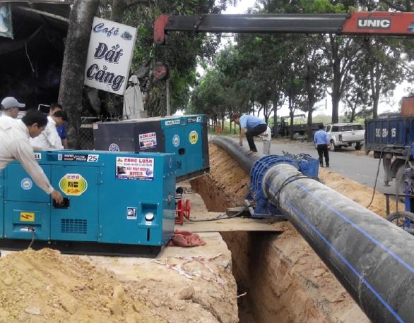 Dự án nhà máy xử lý nước thải TP Quy Nhơn