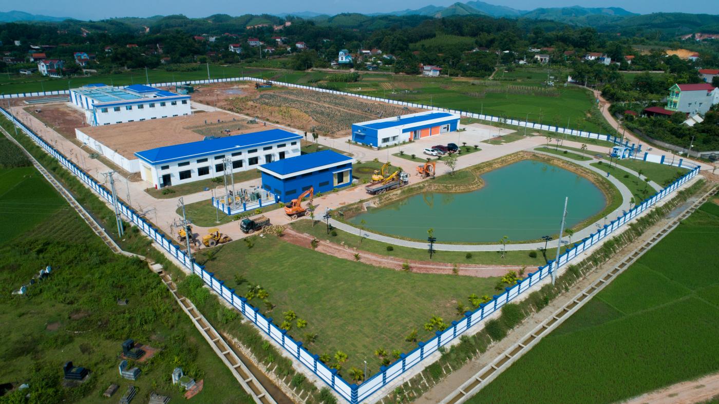 Nhà máy nước sạch DNP Bắc Giang